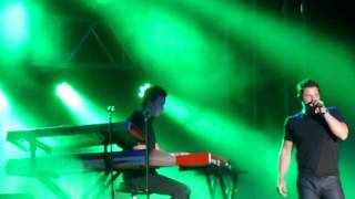 98 Degrees - Una Noche - Mixtape Festival, Hershey, PA 8/18/12