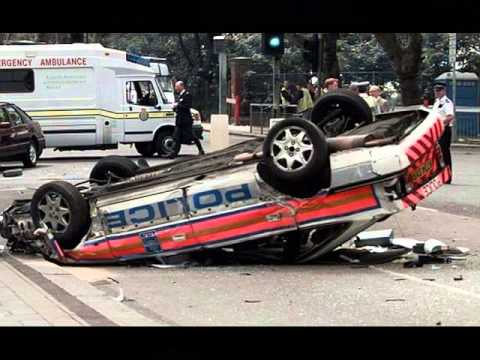 Police Car Crash - Police Car Accident Photos