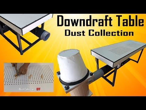 Downdraft Table | Dust Collection | MakerMan