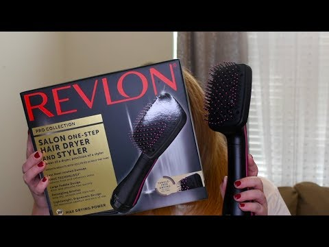 TEST IT OUT: Revlon hair dryer and styler | Taren Denise
