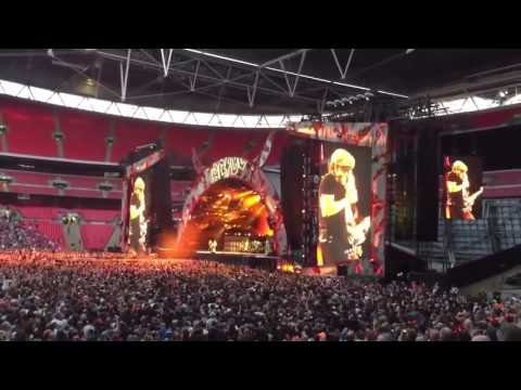 AC/DC live at Rock or Bust World Tour Wembley stadium London July 2015 Full concert