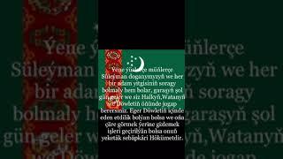 Süleýmanyň Gany Ýerde Galmasyn   #turkmenistan #suleyman