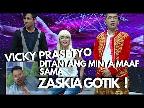 Download Vicky Prasetyo Ditantang Minta Maaf Sama Zaskia Gotik | Pesbukers Mp4 baru