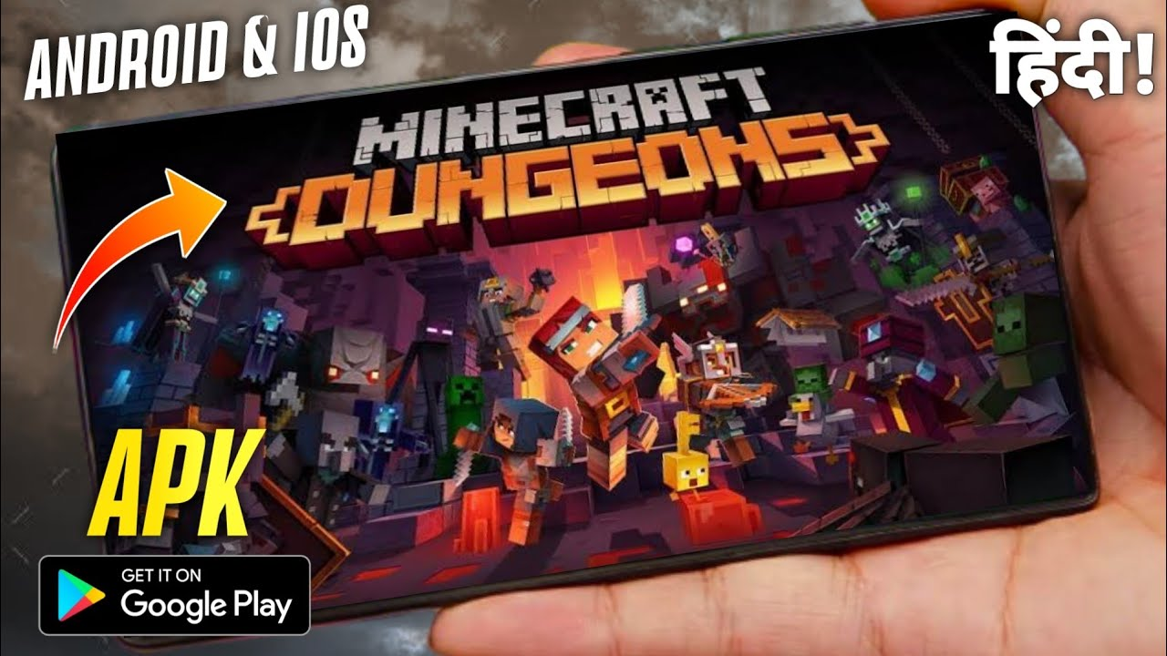 Minecraft Dungeons Latest Version For Android Download Now MC