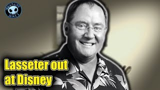 John Lasseter is out at Disney by year's end