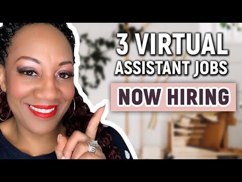 Virtual Assistant Jobs - 3 Virtual Assistant Jobs NOW HIRING