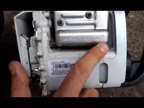 Оригинальная бензопила Штиль 180 видео Stihl 180 chainsaw original video