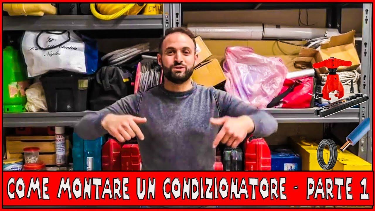 Come Montare Un Condizionatore come montare un condizionatore - episodio 1 - cartellatrice