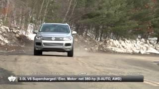 2014 Volkswagen Touareg Hybrid Test Drive