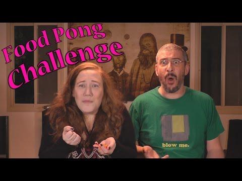 Food Pong Challenge - אתגר הפוד פונג