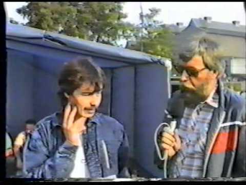 Kolín 1989 - trénink