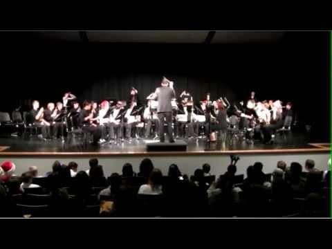 "Sage Valley Middle School 8th Grade Symphonic Band:  ""Christmas"" Electricity by Dan Bukvich"