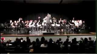 sage valley middle school 8th grade symphonic band christmas electricity by dan bukvich