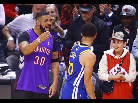 Drake's Best Moments At NBA Games