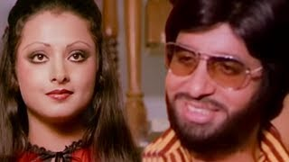 Amitabh Bachchan gift presents to Rekha on her birthday | Do Anjaane | Bollywood Scene 22/31