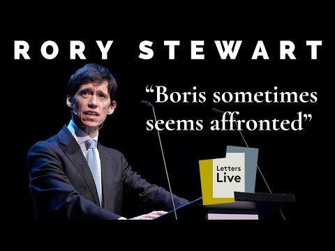 Rory Stewart reading at Letters Live at the Royal Albert Hall on 3rd October 2019