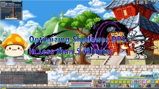 [MapleStory] How to Optimize Shadower DPS in Less Than 5 Minutes