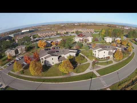 SVSU Campus from the Air