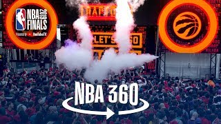 NBA 360 | Raptors Win Game 1, Toronto Celebrates