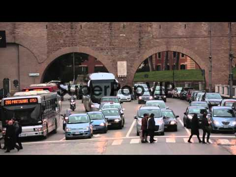 traffic-scene-at-the-vatican-city-after-pope-benedict-xv...