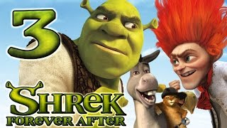 Shrek Forever After Walkthrough Part 3 (PS3, X360, Wii, PC) - The Swamp (2)