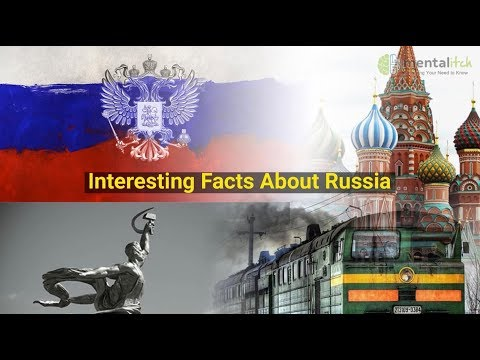 Interesting Facts About Russia