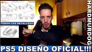 PS5 DISEÑO OFICIAL DEV KIT | Hardmurdog - Sony - Playstation - Español