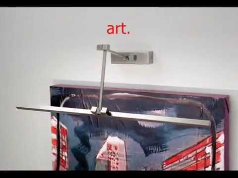 Lampade da quadro picture lights youtube
