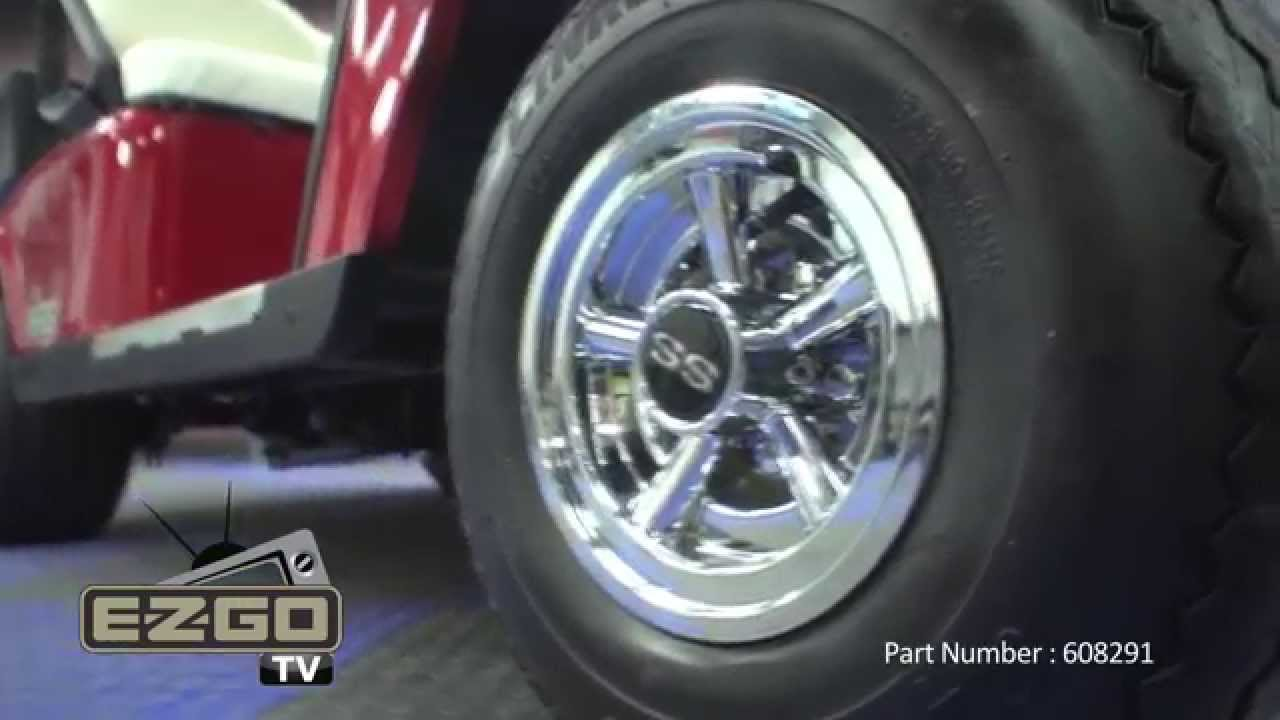 Golf Cart Ss Wheel Covers Youtube