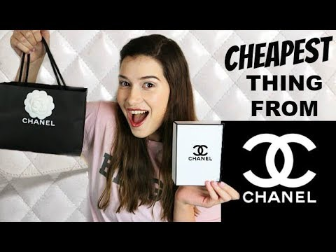 I Buy The Cheapest Thing On Chanel! from YouTube · Duration:  10 minutes 24 seconds