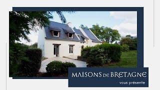 Maison familiale 15mn d'Auray Morbihan Bretagne sud | Référence HB037