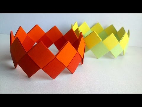 How To Make Bright Paper Bracelets - DIY Crafts Tutorial - Guidecentral
