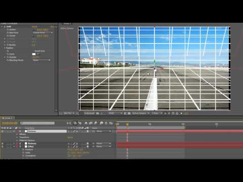 Camera Mapping in After Effects