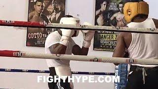 DEVON ALEXANDER VS. AMIR IMAM SPARRING; 1ST FIGHT FOOTAGE OF ALEXANDER IN OVER 2 YEARS