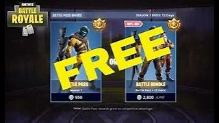 Claiming Season 8 battlepass (free) Fortnite (Battle Royale)
