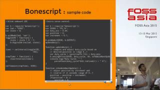 Enabling Cyber Physical systems using Beaglebone Black and Python - FOSSAsia 2015