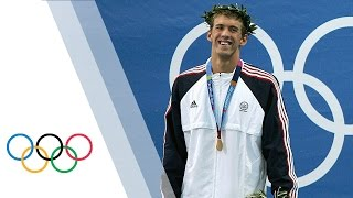Michael Phelps Athens 2004 Olympic Games Highlights