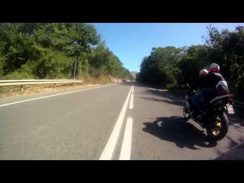 OnBoard Yamaha R6 - Salaria Roma Antrodoco
