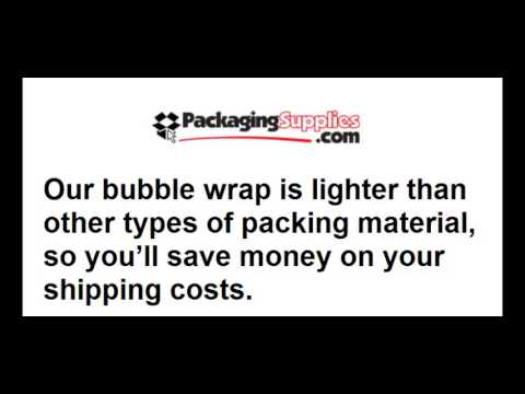 where to buy bubble wrap packaging supplies inc youtube. Black Bedroom Furniture Sets. Home Design Ideas