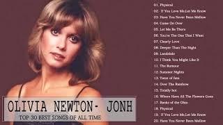 Olivia Newton   Jonh Greatest Hits Playlist 2018   Olivia Newton   Jonh Best Of Album