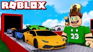 OUR OWN LUXURY CAR MANUFACTURE IN ROBLOX !!