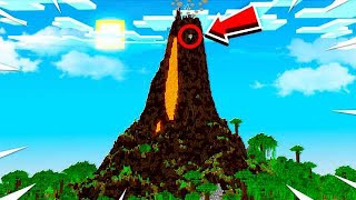 *FIRST* EVER MINECRAFT VOLCANO SMART HOUSE!