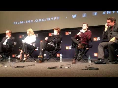 "NYFF ""The Lost City of Z"" panel: dir James Gray w/ cast: Tom Holland, Robert Pattinson & more"