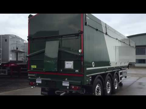 New 2016 Muldoon Bulk Blowing Tipper / Tipping Trailer For Sale