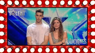Este dúo hechiza con su magia: él rapea y ella canta | Audiciones 9 | Got Talent España 2018