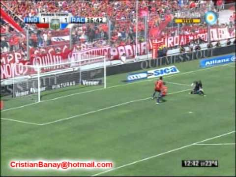 Independiente 4 Racing 1 Clausura 2012 Los goles (Relato Mariano Closs)