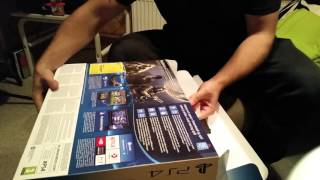 Buying a new PS4 + Unboxing + Setup