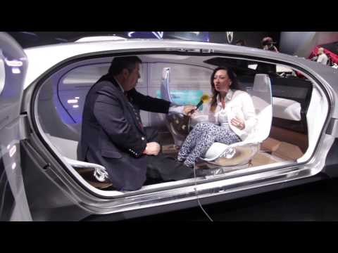 Mercedes Benz F 015 The Ultimate Self Driving Car Youtube