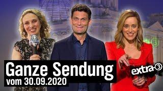Extra 3 vom 30.09.2020 mit Christian Ehring