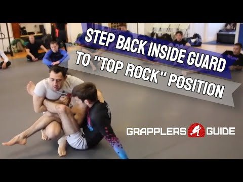 """Reilly Bodycomb - Step Back Inside Their Guard To The """"Top Rock"""" Position"""